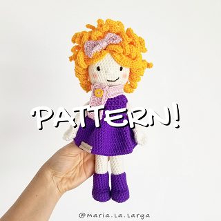 Primrose Doll amigurumi free pdf download - Laydiy Free Patterns site | 320x320