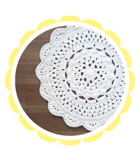 floor rug crochet round white patterns free fabric yarn